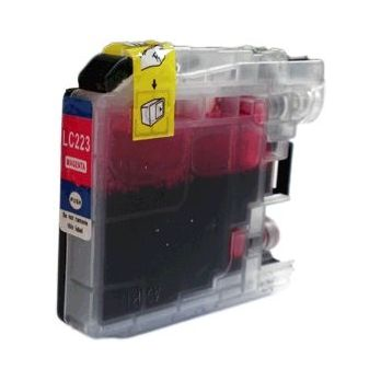 Cartouche compatible BROTHER LC223M Magenta