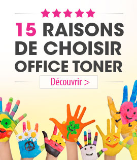 15 raisons de choisir Office Toner